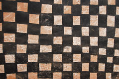 stam- vägg för afrikansk målning arkivbilder