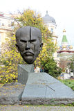 Stambolov Monument in Sofia, Bulgaria. Monument to Stefan Stambolov - a Bulgarian politician, who served as Prime Minister and regent. Photo taken in the center Royalty Free Stock Image