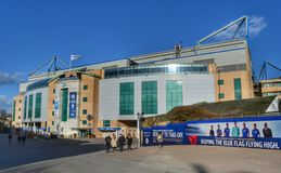 Stamford Bridge football stadium Royalty Free Stock Image