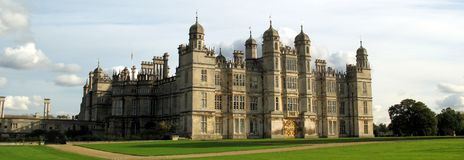 Stamford Hall, England Stock Photo