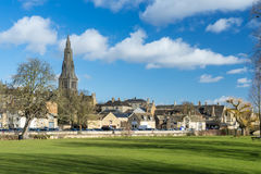 Stamford. The historical city of Stamford in Lincolnshire Stock Photos