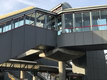 Stamford-Metro-Norden-Bahnhof Lizenzfreies Stockfoto