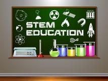 STAMM-Ausbildung auf Tafel stock abbildung