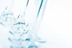 Stamm der blauen Glasfarbe Lizenzfreies Stockfoto