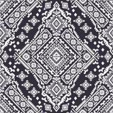 Stammen Azteeks uitstekend naadloos patroon stock illustratie