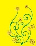 Stammen bloem vector illustratie