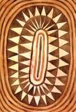 Stammen de Waterverfachtergrond van de Driehoekencirkel stock foto's