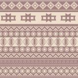 Stammen etnisch naadloos patroon Het kan voor doek, zakken worden gebruikt, Stock Foto's