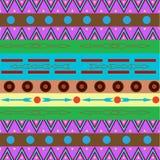 Stammen etnisch naadloos patroon Het kan voor doek, zakken worden gebruikt, Stock Foto