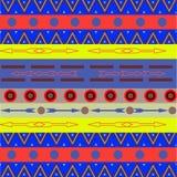 Stammen etnisch naadloos patroon Het kan voor doek, zakken worden gebruikt, Royalty-vrije Stock Afbeeldingen