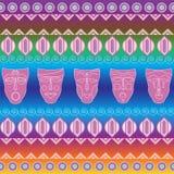 Stammen etnisch naadloos patroon Het kan voor doek, zakken worden gebruikt, Stock Afbeeldingen