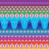 Stammen etnisch naadloos patroon Het kan voor doek, zakken worden gebruikt, Stock Fotografie