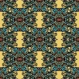 Stammen etnisch patroon  Stock Foto