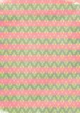 Stammen het patroonachtergrond van de ikatdiamant Royalty-vrije Stock Afbeelding