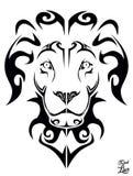 Stammen leeuw Stock Afbeeldingen
