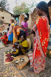Stammen Mensen in India. Stock Foto's