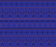 Stammen naadloos patroon - de inheemse tekens van Berber, etnische achtergrond royalty-vrije stock foto's