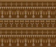 Stammen naadloos patroon - de inheemse tekens van Berber, etnische achtergrond stock foto's