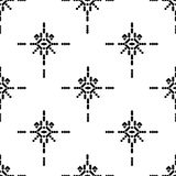 Stammen ornament stock illustratie