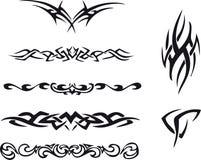 Stammen tatoegering Stock Foto