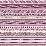 Stammen uitstekend etnisch naadloos patroon vector illustratie