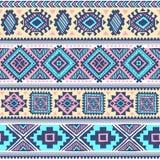 Stammen uitstekend etnisch naadloos patroon stock illustratie