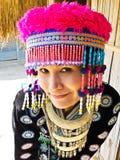 Stammen vrouwen in Thailand Stock Foto