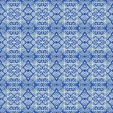 Stammenkantpatroon Royalty-vrije Stock Foto