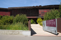 Stammenkunstmuseum van Quai Branly in Parijs Royalty-vrije Stock Foto