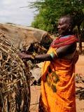 Stammenmensen van Afrika, Kenia royalty-vrije stock foto