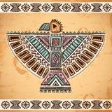 Stammes- Adlersymbole des amerikanischen Ureinwohners Stockfotografie