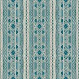 Stammes- beige und grünes Muster Stockbild