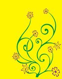 Stammes- Blume Stockfotografie