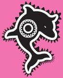 Stammes- Delphin Lizenzfreie Stockbilder