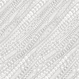 Stammes- diagonales nahtloses Muster lizenzfreie abbildung