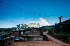 Stammes- Dorf Lizenzfreie Stockfotos