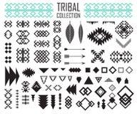 Stammes- Elementsammlung Stockfotografie