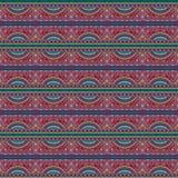 Stammes- ethnisches Muster des abstrakten Vektors Lizenzfreie Stockbilder