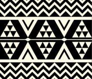 Stammes- ethnisches Muster des Vektors Lizenzfreies Stockbild