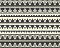 Stammes- ethnisches Muster des Vektors Stockbilder