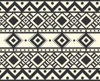 Stammes- ethnisches Muster des Vektors Lizenzfreie Stockfotografie