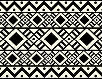 Stammes- ethnisches Muster des Vektors Stockfotos