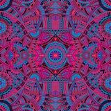 Stammes- ethnisches nahtloses Muster des abstrakten Vektors Stockfotos