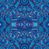 Stammes- ethnisches nahtloses Muster des abstrakten Vektors Stockbild