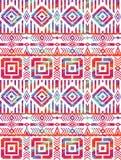 Stammes- ethnisches nahtloses Muster mit geometrischen Elementen lizenzfreie abbildung