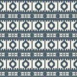 Stammes- farbiges Muster 10 Lizenzfreie Stockfotografie