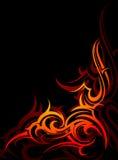 Stammes- Flammen Lizenzfreie Stockfotos