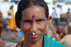 Stammes- Frau Indien stockfotografie