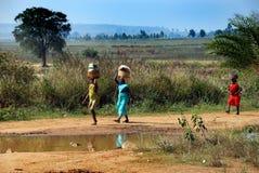 Stammes- Frauen Stockbild