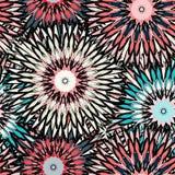 Stammes- Hintergrund der schönen abstrakten nahtlosen Musterweinlese Lizenzfreie Stockfotografie